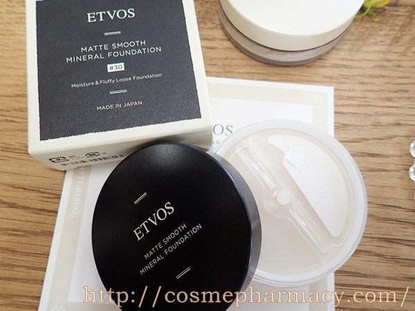 エトヴォス(ETVOS)マットスムースミネラルファンデーション