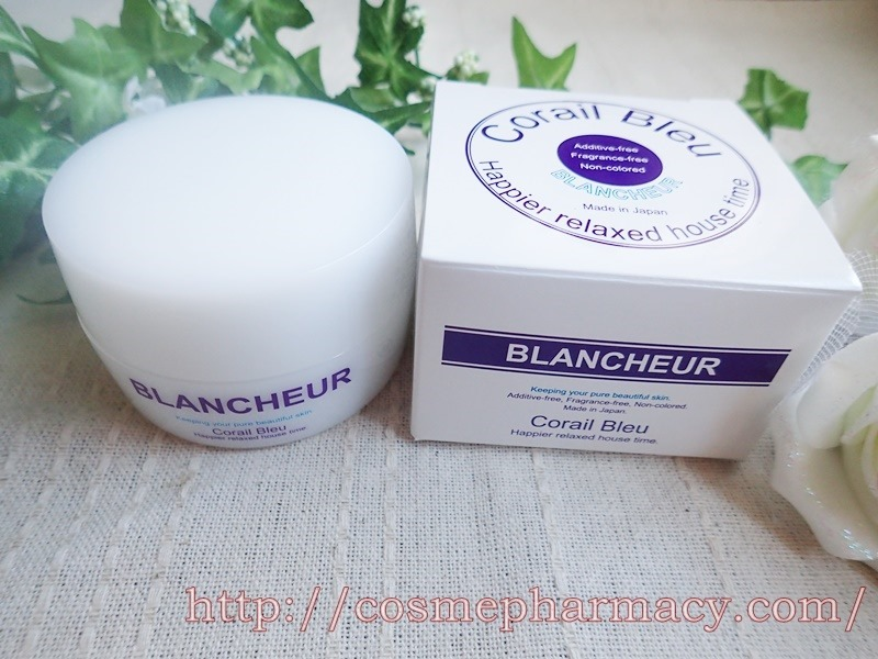 「BLANCHEUR(ブランシュール)」首もと&デコルテ専用ジェル。しわ、かぶれ、吹き出物などに悩む方へ